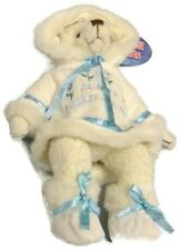 Alaska Friends Forget-Me-Not Plush Polar Bear with Parka 8""