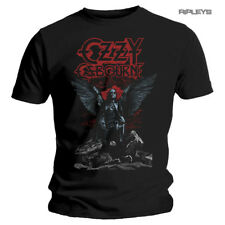 Official T Shirt OZZY Osbourne Black Sabbath 'Angel Wings' All Sizes