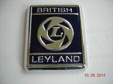 TRIUMPH TR3 TR4 TR6 AUSTIN HEALEY JAGUAR MGB BRITISH LEYLAND BADGE EMBLEM BLUE