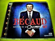 Gilbert Bécaud - Spectacle De L'Olympia 97 / 2CD Live Nathalie | Shop 111austria