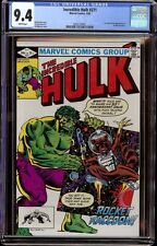 Incredible Hulk # 271 CGC 9.4 White (Marvel, 1982) 1st app Rocket Raccoon