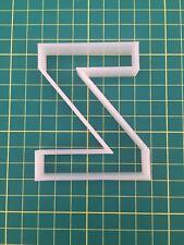Alphabet Letter Z cookie cutter