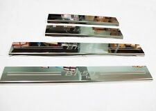 4 Door Sill Stainless steel scuff plate Trim Chrome Guard Mazda BT-50 Pro 2012