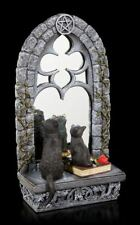 Gatos Figura con espejo - Familiar reflexión - VERONESE NEGRAS Gatitos