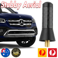 Antenna Short Bee Sting for Mercedes Benz XClass X-Class 2018 Black Carbon