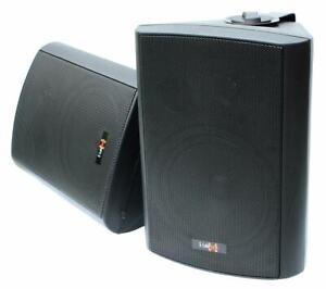 E-Lektron EWL6.5-P passives Stereo Wand-Lautsprecher Paar Innen und Außen - 130W