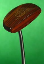 """The Timbered Putter Russ Fisher Ebony Hand Made 34"""" Putter Golf Club QQ"""