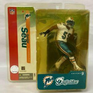 McFarlane Series 9 NFL Miami Dolphins Linebacker Junior Seau Action Figure - NIB