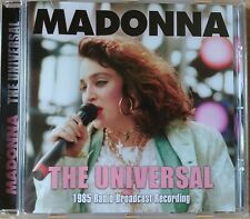 "Madonna ""The Universal"" Live FM Broadcast California 28th April 1985 12 Tracks"