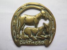 HORSE BRASS of DARTMOOR PONIES in EXCELLENT DETAIL c1970s