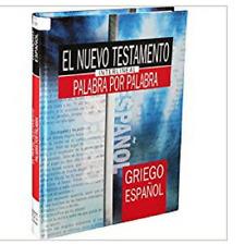 Nuevo Testamento Interlineal Griego español traduccion palabra por palabra