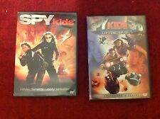 Pair SPY KIDS Dimension Films DVD 3D Game Over Banderas Collector's Wide Screen