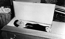 John F Kennedy - Lee Harvey Oswald in his casket on Nov 24, 1963