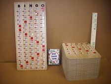 New Complete BINGO Game Set w/ 30 Improved Slide Shutter Cards & 100 Paper Cards