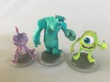 DISNEY INFINITY 1.0 2.0 & 3.0 Monsters Inc Sully Mike & Randall Figures Lot