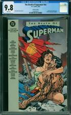 The Death of Superman #nn CGC 9.8 DC 1993 Platinum Edition! RARE! TPB L10 213 cm