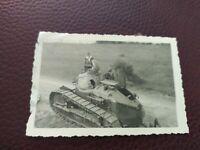 2 WK Foto Wehrmacht Soldaten Panzer Frankreich BUNKER