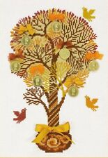 RIOLIS  1294  TREE OF MONEY  Kit  Broderie  Point de Croix  Compté
