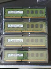 Kit MEMOIRE  SAMSUNG 16Go (4x4Go) DDR3 1333 MHZ PC10600U 09 - 11 - B1
