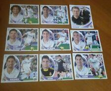 Lote de 9 cromos del Real Madrid. Liga 2012-13. Colecciones Este Panini