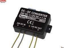 KEMO M020 Spannungswandler Voltage transformer 24 to 12V/DC transformador