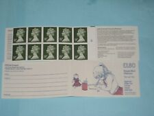1987 FU5B Folded £1.80 Cylinder Booklet Girl Drawing
