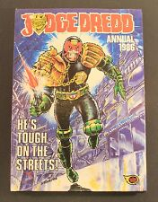 1986 Fleetway JUDGE DREDD Annual - Hardcover UK exclusive book FAIR to GD cond.