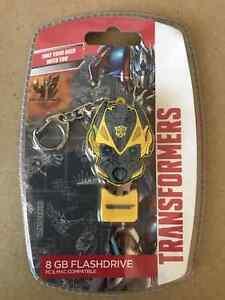 New Transformers Bumblebee 8GB USB Flashdrive Keyring