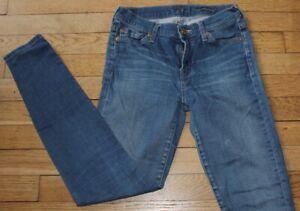 7 For All Mankind Jeans pour Femme W 26 - L 32  Taille Fr 36 (Réf S363)