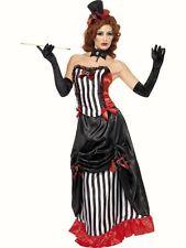 Smiffys Burlesque Madam Vamp Vampire corset fancy dress costume Halloween Womens