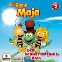 DIE BIENE MAJA - 02/DER SCHMETTERLINGSBALL (CGI)   CD NEW