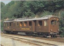 SWITZERLAND    ( AB ) Appenzeller Bahn narrow gauge motor coach # 56 in 1980