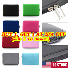 Sleeve Case Cover Laptop Bag For MacBook Air Pro Lenovo Dell Asus HP 11-17 inch