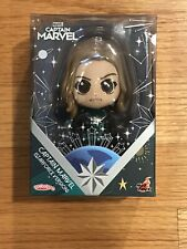 Marvel's Captain Marvel Cosbaby Bobble-Head Figure (Starforce Version) NIB!