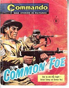 COMMANDO COMIC - No 375   COMMON FOE