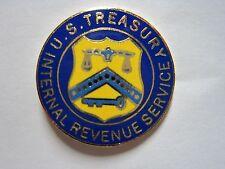 IRS INTERNAL REVENUE SERVICE SMALL METAL LAPEL PIN ENAMEL COLORS*