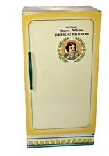 VTG Wolverine Disney Snow White Seven Dwarfs Tin Litho Play Refrigerator W Food!