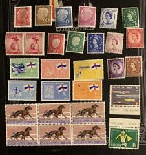 G8/69 World Stamp Collection Netherland Gb New Zealand German Mnhog Great Coll
