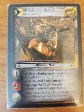 Lord of the Rings TCG Treachery & Deceit 18R71 Mumakil Commander, Bold and Grim
