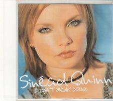 (FD63) Sinead Quinn, I Can't Break Down - DJ CD