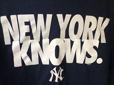 Nike NEW YORK KNOWS NY Yankees T-Shirt Men's XL