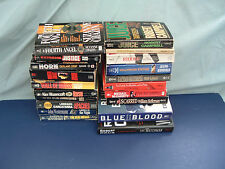 Police cop detective murder crime 20 mixed book lot blue blood rush apaches lot8