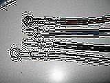 HONDA CBR600F HURRICANE CUSTOM STAINLESS S BRAKE LINE
