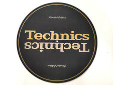 Original Technics Gold Limited Slipmat SL 1210 / SL 1200 GLD LTD MK2 MK5 M3D M5G