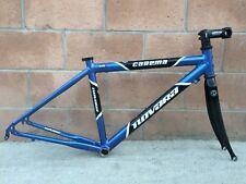"Novara Carema Road Racing Pro Bike Frame Set 17.5"" Carbon Fork 700c"