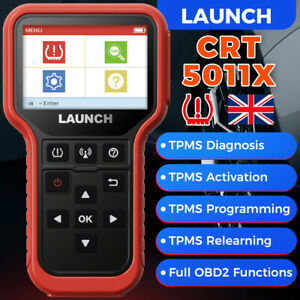 LAUNCH TPMS Relearn Tool CRT5011X Activate/Relearn 433 Sensor TPMS Programming