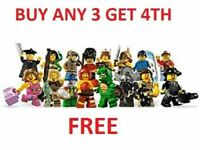 GENUINE LEGO MINIFIGURES SERIES 5 8805  PICK CHOOSE YOUR OWN + BUY 3 GET 1 FREE