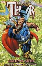 Thor Gods and Men GN Dan Jurgens Scot Eaton Avengers Marvel TPB New NM