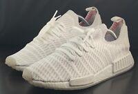 Adidas NMD R1 STLT PK Cloud White BOOST Running Shoe CQ2390 Men's US Size 8