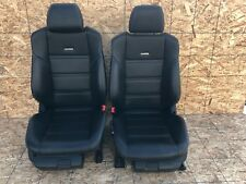 31K MERCEDES W212 W218 E63 CLS63 FRONT SPORT AMG LEATHER SEAT SEATS SET OEM